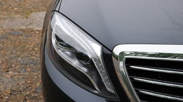 LED headlights come as standard on all S-Class models