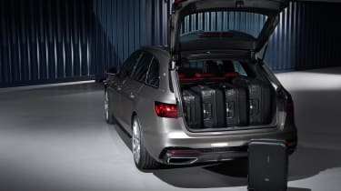 Facelifted Audi A4 Avant estate - boot space