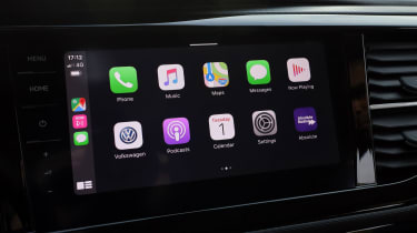 Volkswagen California Apple CarPlay