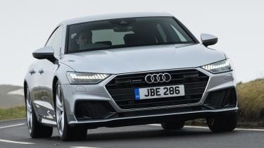 Audi A7 Sportback hatchback front action