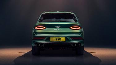 2020 Bentley Bentayga SUV - rear studio