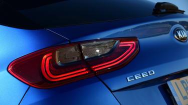 Kia Ceed hatchback rear lights