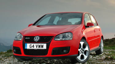 The fifth-generation Volkswagen Golf GTI was a return to form for the German brand's sportier efforts.