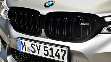 BMW M5 Competition - front grille close-up