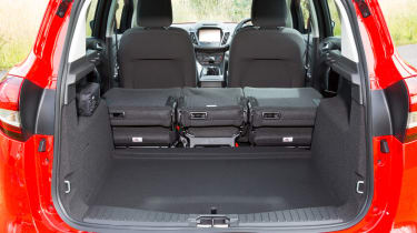 A variety of configurations means the C-MAX is quite versatile