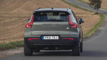 Volvo XC40 Recharge P8 SUV rear driving