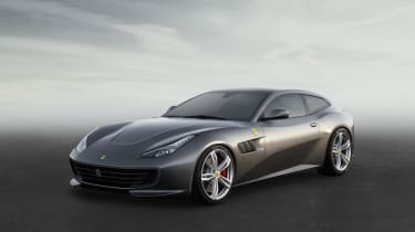 Who said Ferraris had to be impractical? The GTC4 Lusso is a genuine four-seater with a hatchback boot