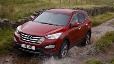 Four-wheel-drive is fitted as standard, while there's the choice of a manual or automatic gearbox