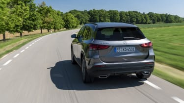 Mercedes GLA 250 e SUV rear tracking