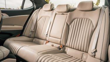 Genesis G70 saloon rear seats