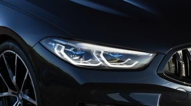 BMW 840d headlamp detail