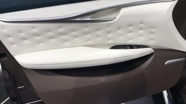 It's not yet confirmed whether all the interior finishes of the QX50 Concept will make it to production