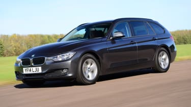 BMW 3 Series Touring xDrive - front 3/4 view