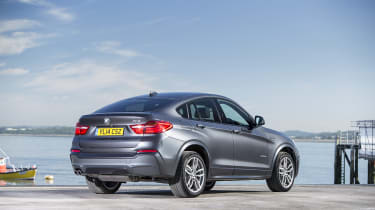 Its swooping roofline is inspired by the larger BMW X6 and looks unlike anything else on the road