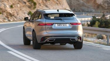 2020 Jaguar F-Pace - rear 3/4 static view