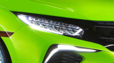 The original lighting concept for the new Honda Civic has made it to production with little change