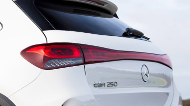 Mercedes EQA SUV review rear lights