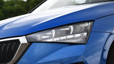 Skoda Scala hatchback headlights