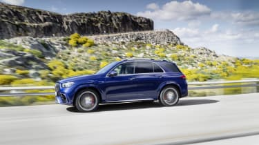 Mercedes-AMG GLE 63 S - passing dynamic