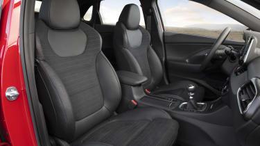 Hyundai i30 N front interior view