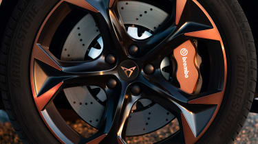 Cupra Formentor SUV alloy wheels