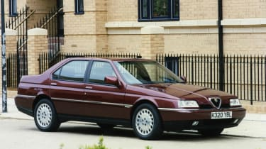 Sharing common elements with a Fiat, a Lancia and a Saab might not have seemed promising, but the Alfa 164 had true charisma