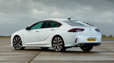 2021 Vauxhall Insignia - rear 3/4 view static