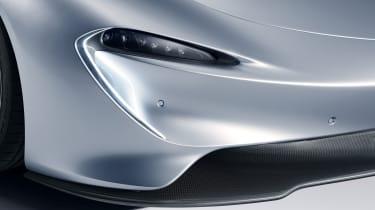2020 McLaren Speedtail headlight