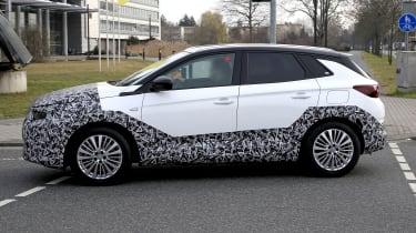 Facelifted 2021 Vauxhall Grandland SUV