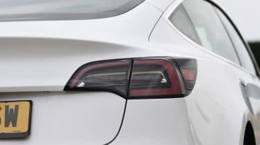 Tesla Model 3 - rear light close up