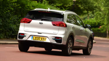 Kia e-Niro - rear 3/4 dynamic
