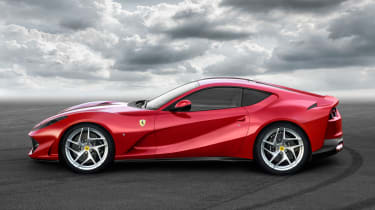 The new car celebrates Ferrari's 70th anniversary