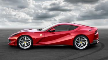 The new car celebrates Ferrari's 70th anniversary