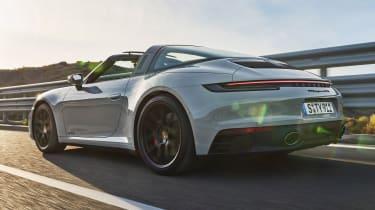 New Porsche 911 GTS targa