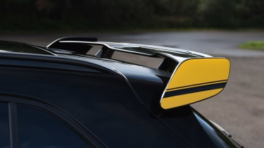 Redesigned for the facelift, the aerodynamic aids are now said to produce less drag, to make it even faster