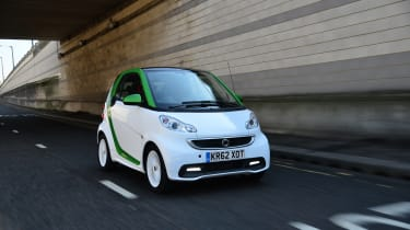 Smart ForTwo ED - Front 3/4 view