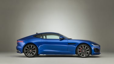 2020 Jaguar F-Type side view