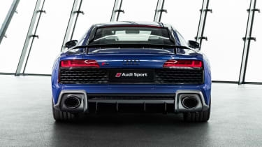 2019 Audi R8 Coupe rear