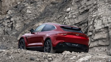 Aston Martin DBX - rear side