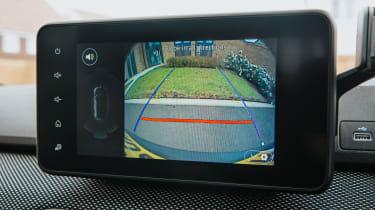Dacia Sandero Stepway hatchback infotainment