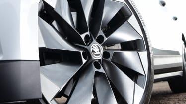 Skoda Enyaq iV SUV alloy wheels