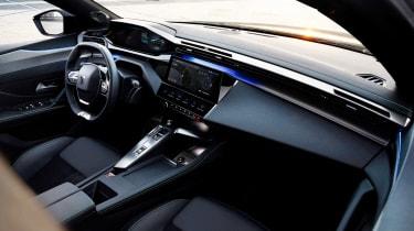2021 Peugeot 308 SW estate - interior wide