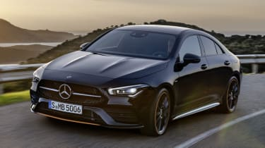 Mercedes CLA front