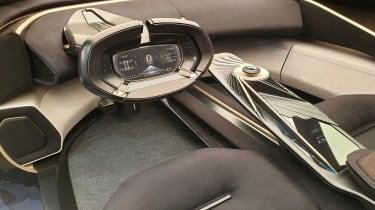 Lagonda All-Terrain SUV concept Geneva interior