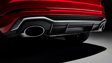 Audi RS Q3 exhausts