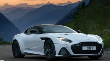 Aston Martin DBS Superleggera static