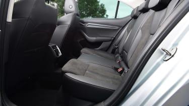 Skoda Octavia hatchback rear seats