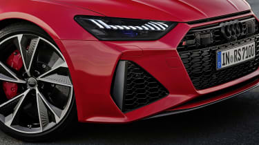 Audi RS7 front end