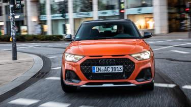 Audi A1 Citycarver hatchback front cornering