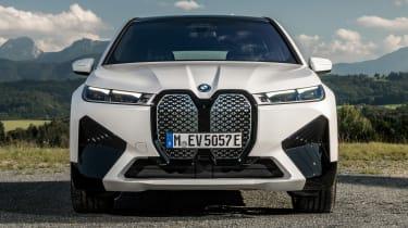 BMW iX SUV front static